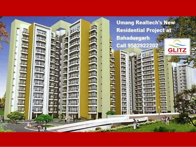 9582922202 Umang Realtech Upcoming Project, Bahadurgarh, Haryana