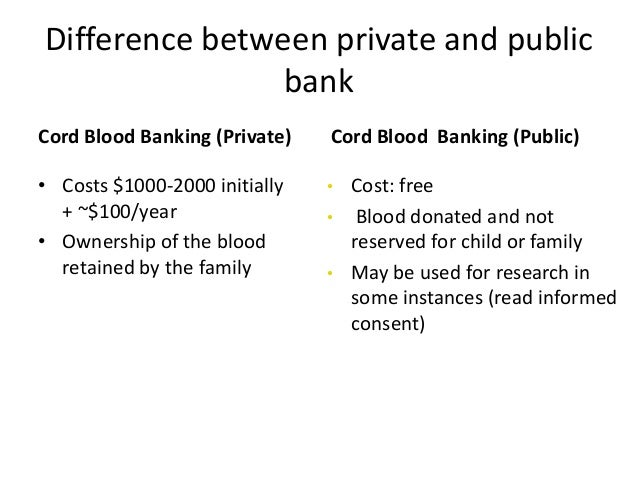 Cord Blood Banking Cost >> Umbilical cord stem cell
