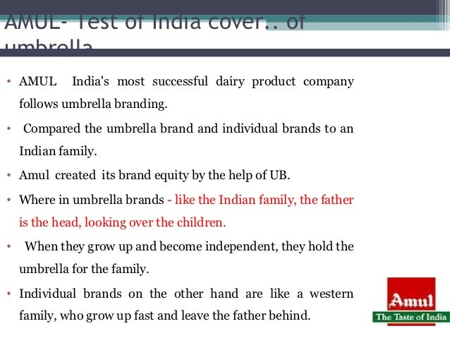 amul brand equity We will write a custom essay sample on leveraging brand elements – amul for combined with excellent brand equity and transferability the amul brand.