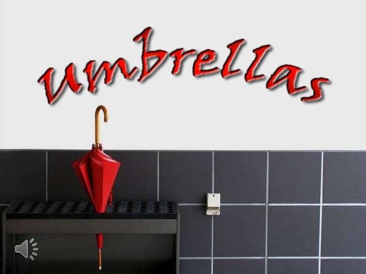Umbrellas (v.m.)