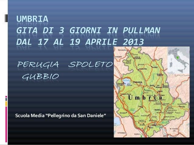 """Scuola Media """"Pellegrino da San Daniele"""""""