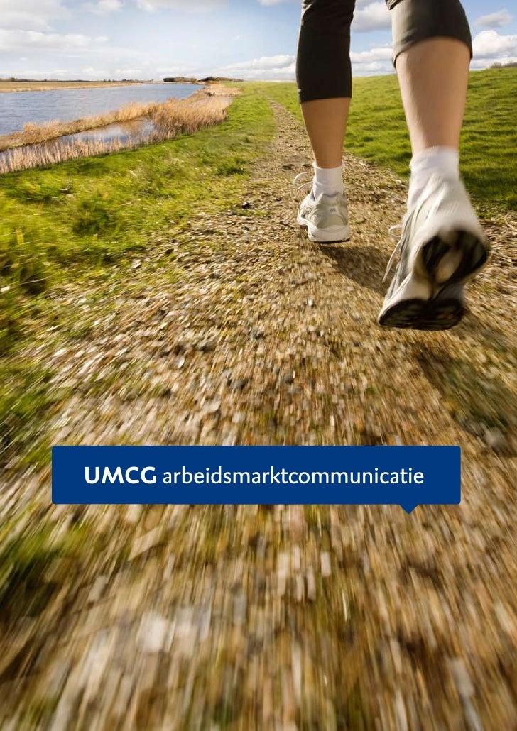 UMCG arbeidsmarktcommunicatie
