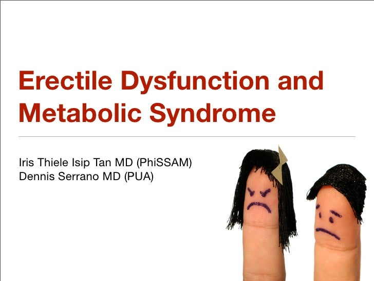 Metabolic Syndrome and Erectile Dysfunction