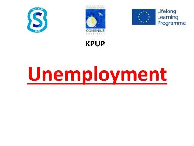 Unemployment KPUP