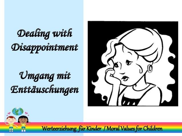 Werteerziehung für Kinder / Moral Values for Children