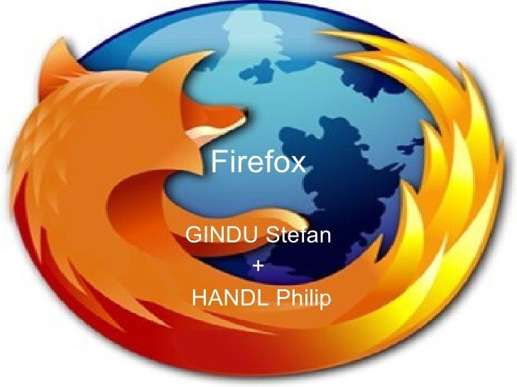 GINDU Stefan + HANDL Philip Firefox