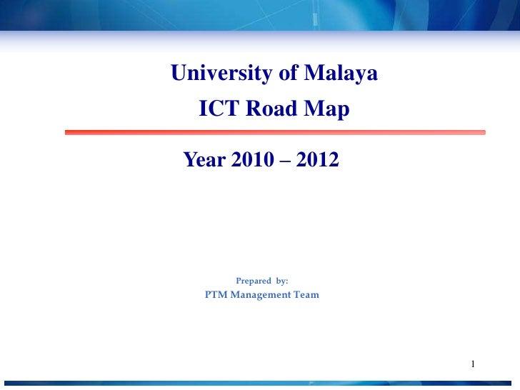 UM ICT Road Map