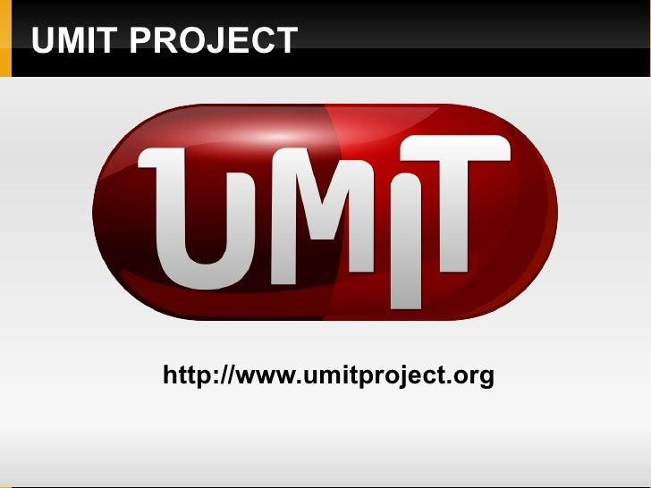 Umit Project Presentation