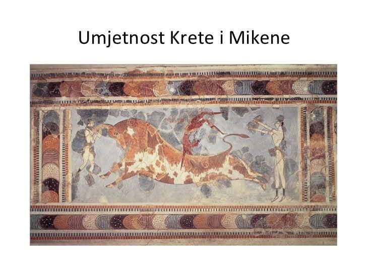 Umjetnost Krete i Mikene