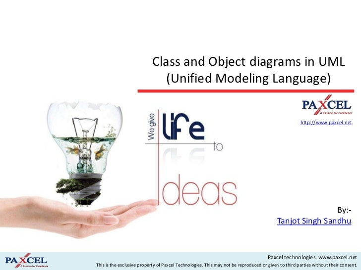 Class and Object diagrams in UML                              (Unified Modeling Language)                                 ...