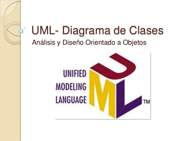 UML  diagrama de clases