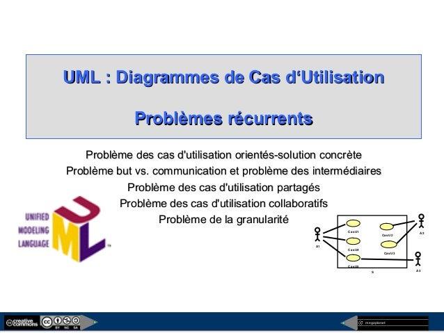 megaplanet UML : Diagrammes de Cas d'UtilisationUML : Diagrammes de Cas d'Utilisation Problèmes récurrentsProblèmes récurr...