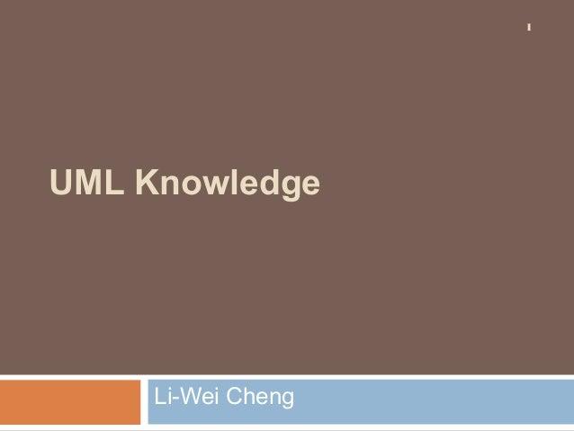 UML knowledge