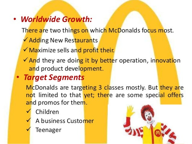 economic analysis of mcdonalds Mcdonald's restaurants stand among american capitalism's greatest success stories starting out with just one burger stall in 1948, the fast-food chain's emphasis on quick service and a.