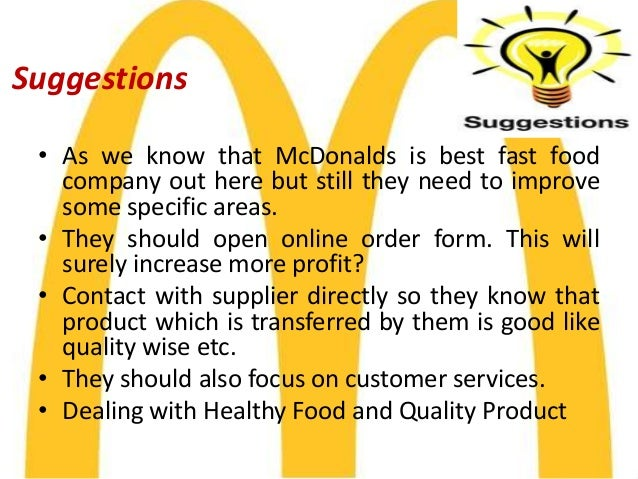 service overview of mcdonalds in morocco Fire & water damage restoration in mcdonald, oh see business rating, customer reviews mr louis a morocco, president/owner morocco service, inc a+ bbb rating system overview.
