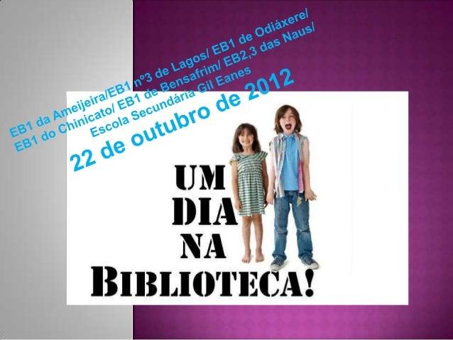     Em cada escola, as professoras bibliotecárias, a educadora Cristina Cardoso    e as funcionárias organizaram, de acor...