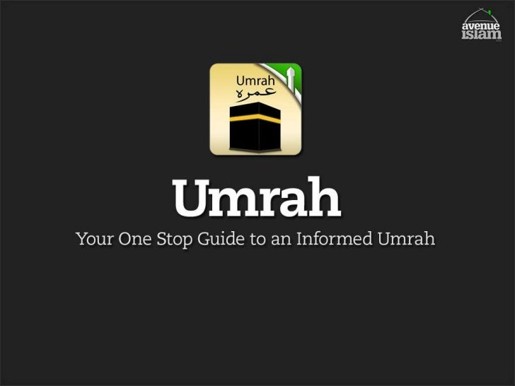 Umrah A Comprehesive Guide - iPhone, iPod, iPad App presentation