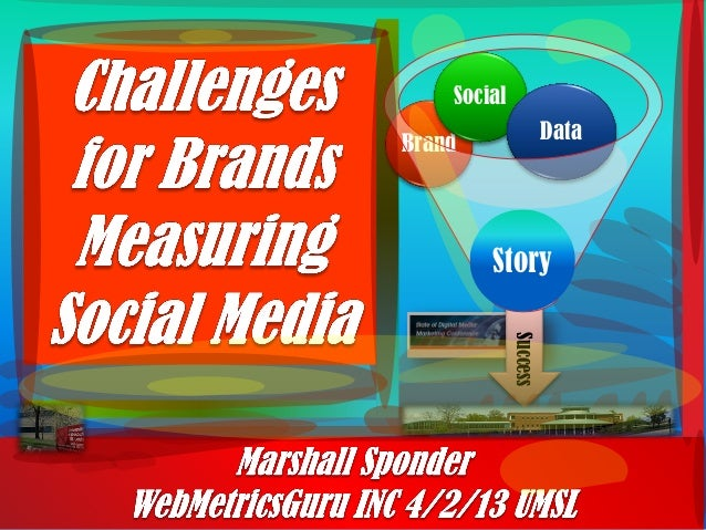 Umsl    challanges for brand measuring social media  -marshall sponder  - april 2nd presenation - st louis