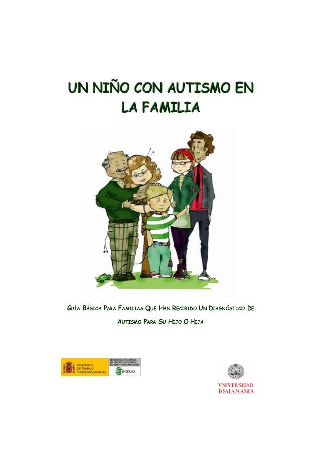 Un niño con autismo en la familia: guía básica
