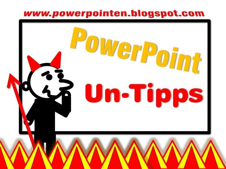 Un-Tipps