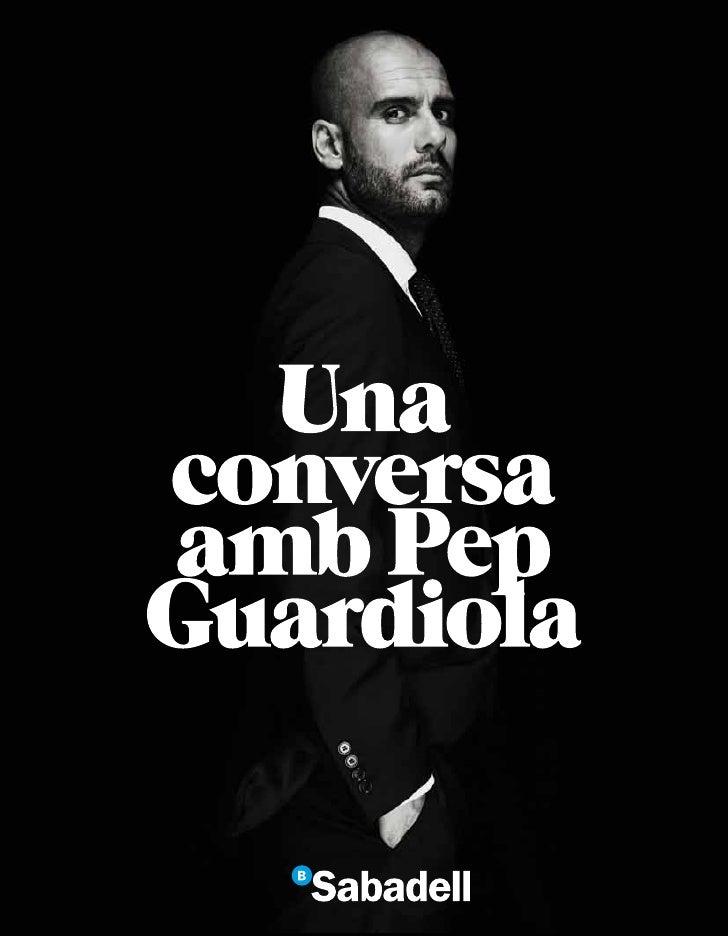 Una conversa amb Pep Guardiola
