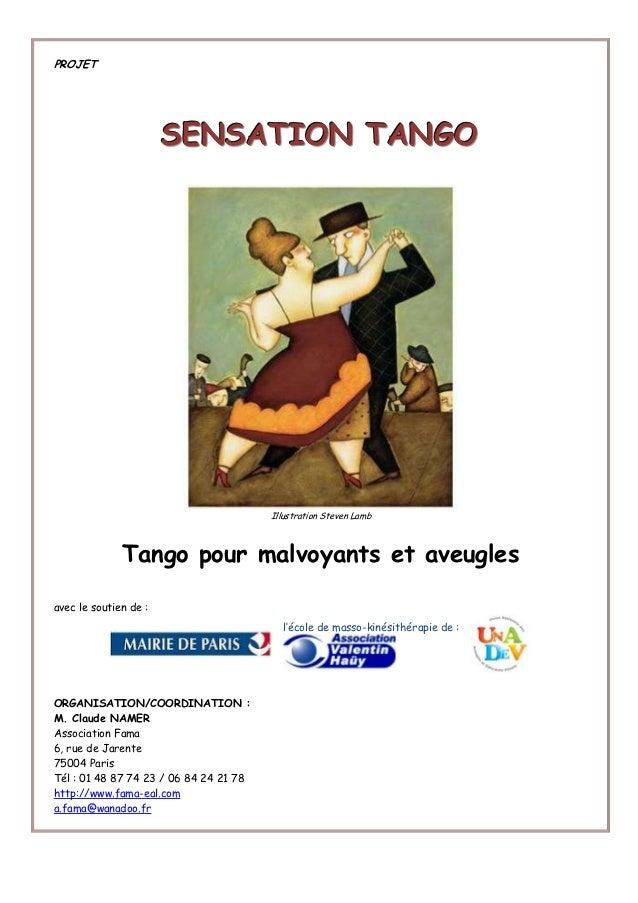 Unadev  projet tango-aveugles