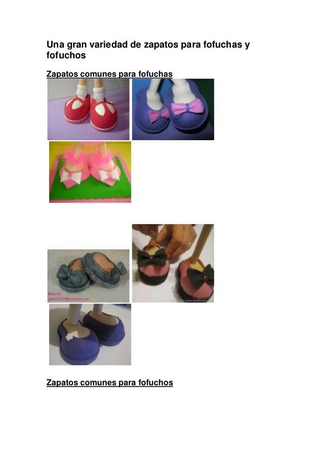 Una gran variedad de zapatos para fofuchas yfofuchosZapatos comunes para fofuchasZapatos comunes para fofuchos