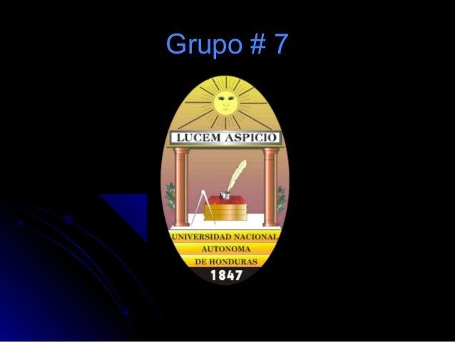 Grupo # 7Grupo # 7