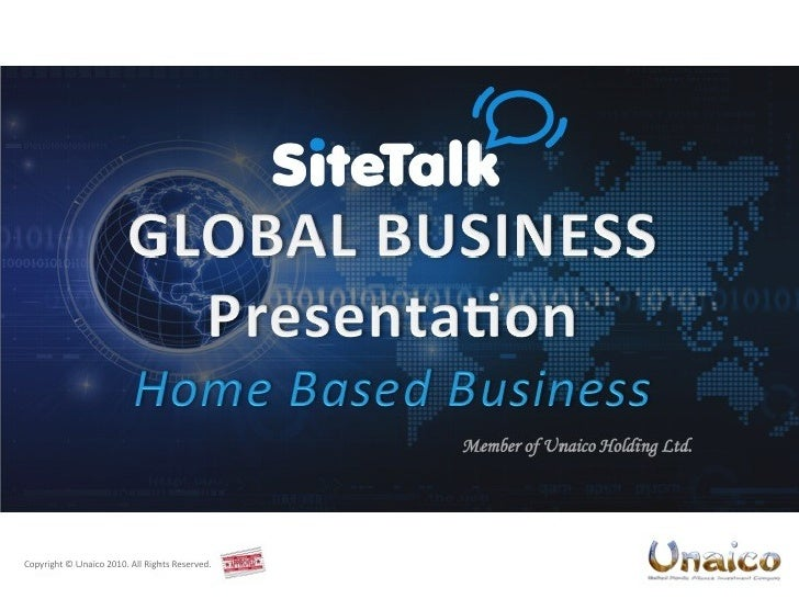 Unaico presentation 2010_small_eng