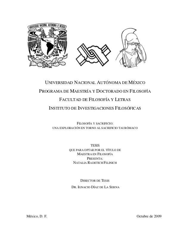 UNIVERSIDAD NACIONAL AUTÓNOMA DE MÉXICO       PROGRAMA DE MAESTRÍA Y DOCTORADO EN FILOSOFÍA                    FACULTAD DE...