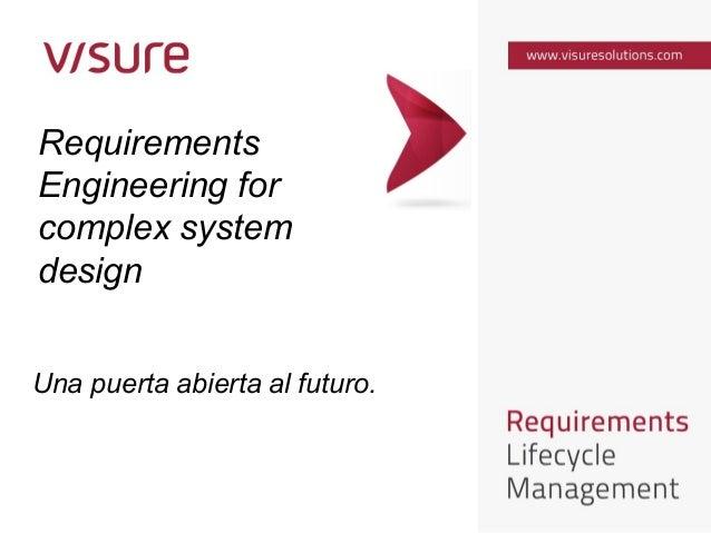Una puerta abierta al futuro - Gregorio Oterino - Visure Solutions