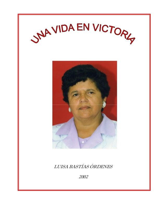 LUISA BASTÍAS ÓRDENES 2002