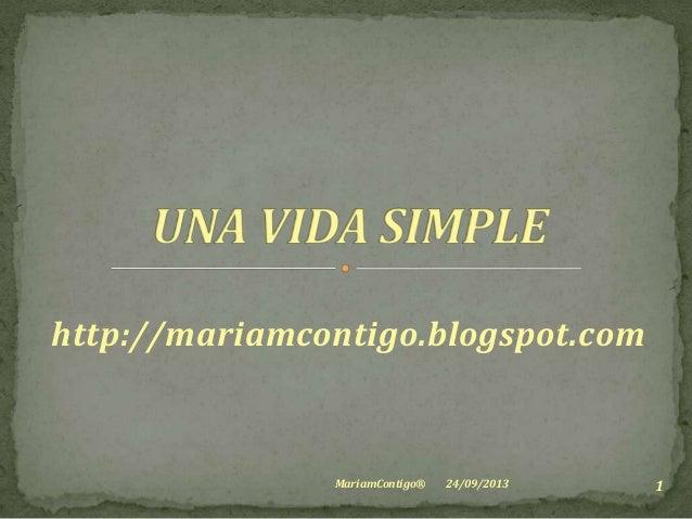 http://mariamcontigo.blogspot.com 24/09/2013 1MariamContigo®