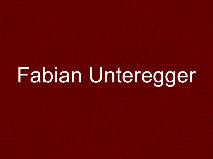 Fabian Unteregger