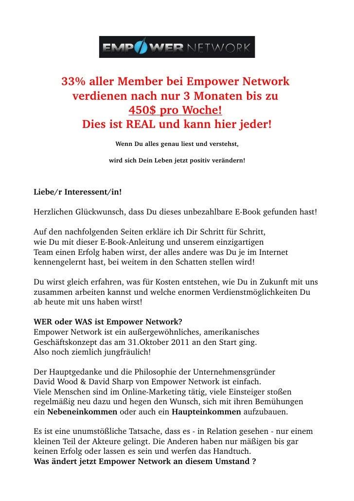 33%allerMemberbeiEmpowerNetwork          verdienennachnur3Monatenbiszu                                      ...