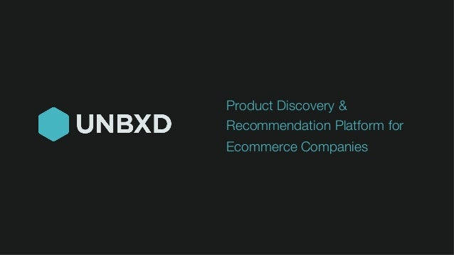 Product Discovery & Recommendation Platform for Ecommerce Companies