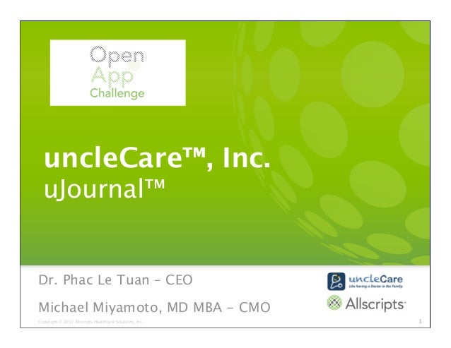 uncleCare - Fostering Patient-Provider Partnerships