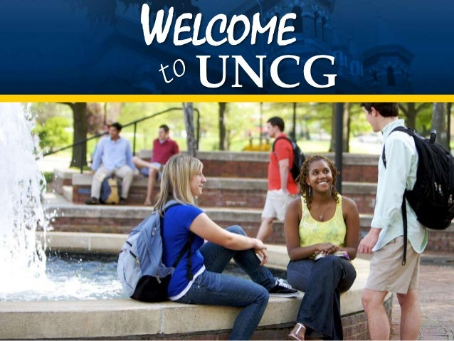 WELCOME  UNCG