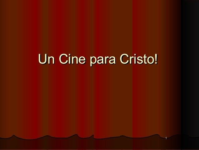 Un cine para Cristo