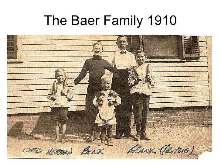 The Baer Family 1910
