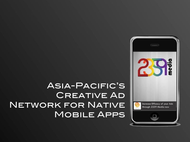 Asia-Pacific's       Creative Ad Network for Native      Your                       Company                               ...
