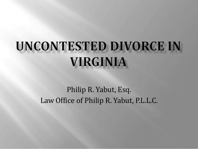 virginia separation laws dating The two main ways to obtain a divorce or legal separation are  get on with your  life while yet another court date is hanging over your head.