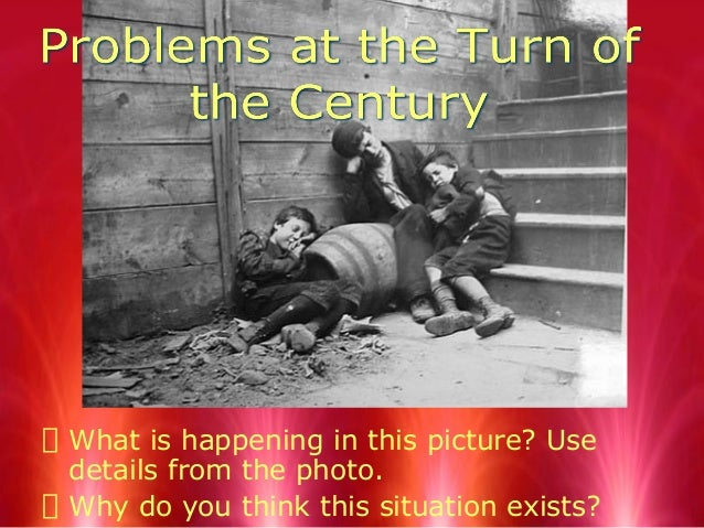 Uncovering problems at the turn of century 2012