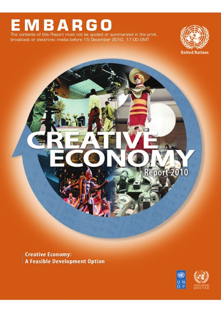 UNCTAD - Creative Economy - A feasible development option