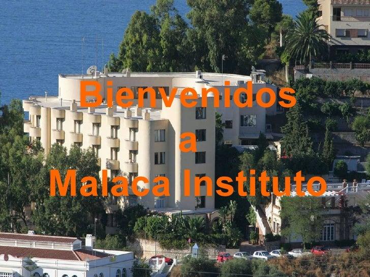 Bienvenidos a Malaca Instituto