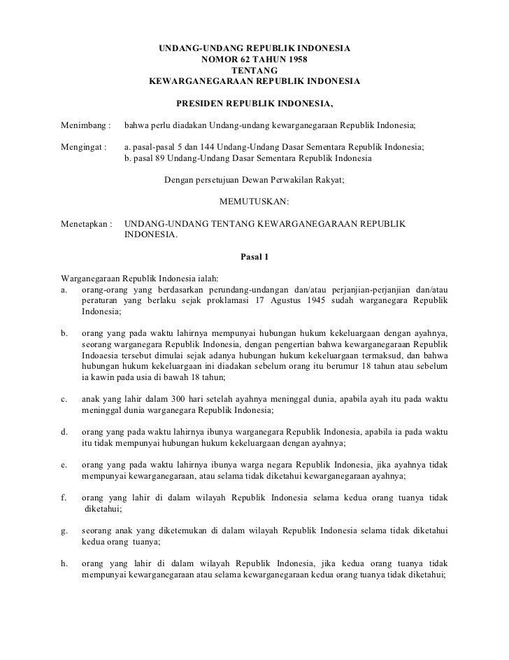 Undang undang no-62_tahun_1958