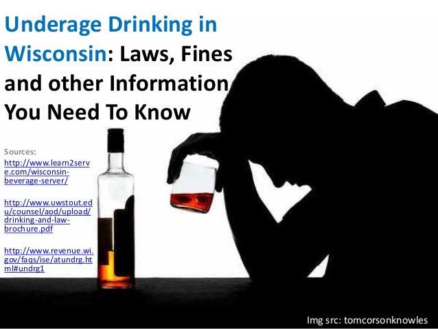 Wiscondin Drinking Age