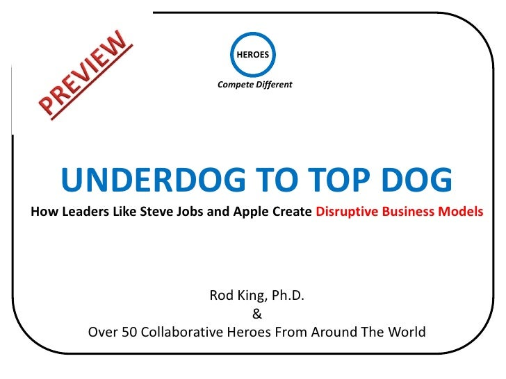 HEROES                             Compete Different    UNDERDOG TO TOP DOGHow Leaders Like Steve Jobs and Apple Create Di...