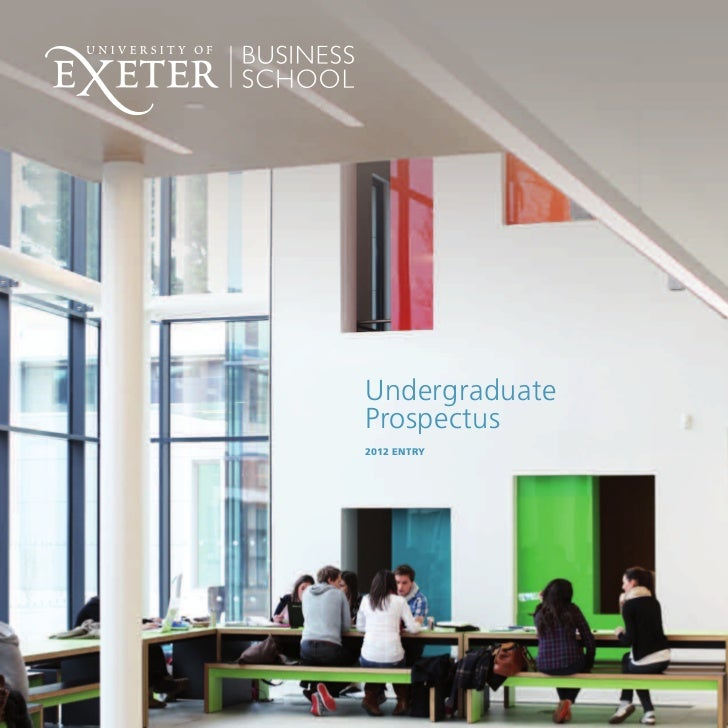 Undergraduate brochure - University of Exeter Business School