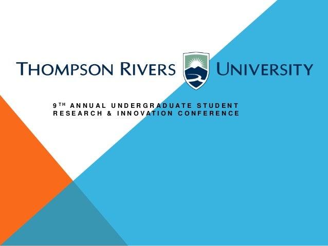 Undergraduate conference powerpoint 2014